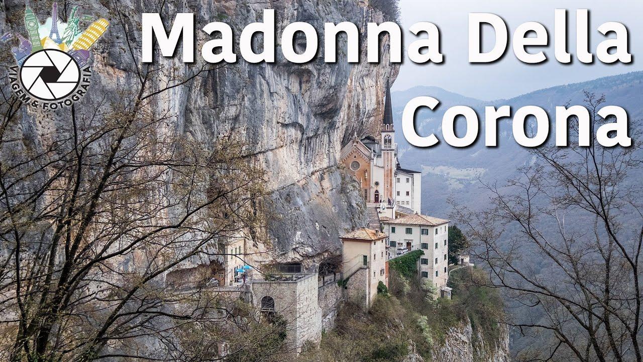 Santuario madonna della corona youtube for Santuario madonna della corona