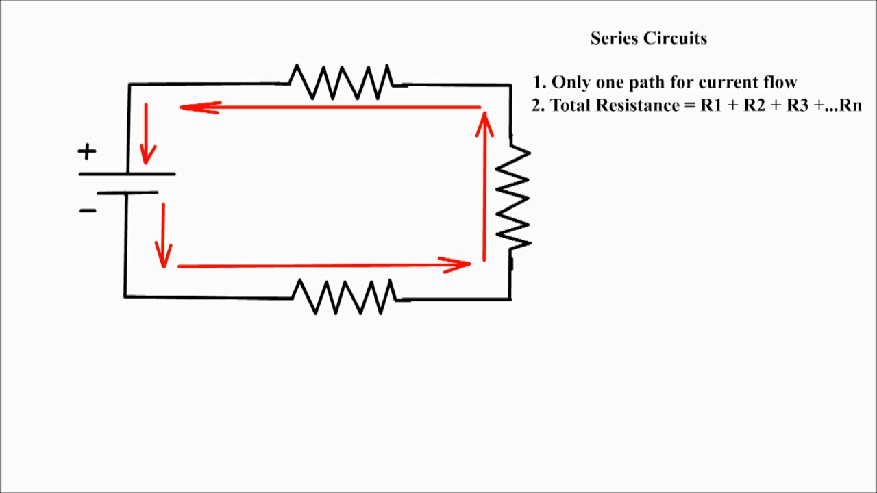 series circuit calculation series circuit how to calculate total resistance in a series circuit  [ 1280 x 720 Pixel ]