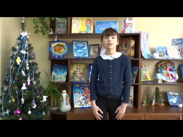 Изображение предпросмотра прочтения – ЭляШарафутдинова читает произведение «Крестьянские дети» Н.А.Некрасова