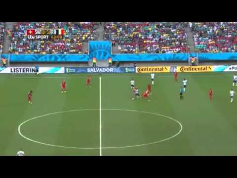 Switzerland vs France (2-5) World cup full highlights (Video HD)