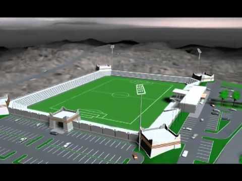 Abha Stadium in Saudi Arabia