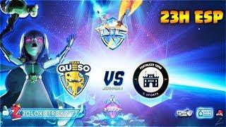 🔴 TEAM QUESO vs FORTALEZA TEAM | 1 PLENO = 1 PASE DE BATALLA | Liga Intercontinental de Clanes