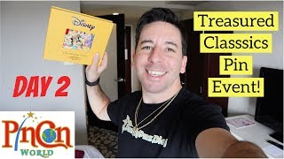 PinCon World TREASURED CLASSICS Anaheim 2018 Disney Pin Event! Video