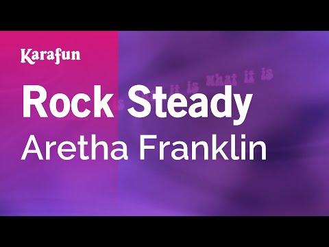 Rock Steady - Aretha Franklin | Karaoke Version | KaraFun