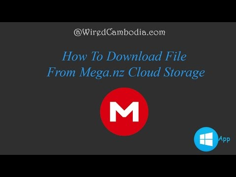 How to Download File From Mega