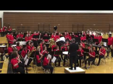 March On, America! arr. Wagner, PMS Advanced Band