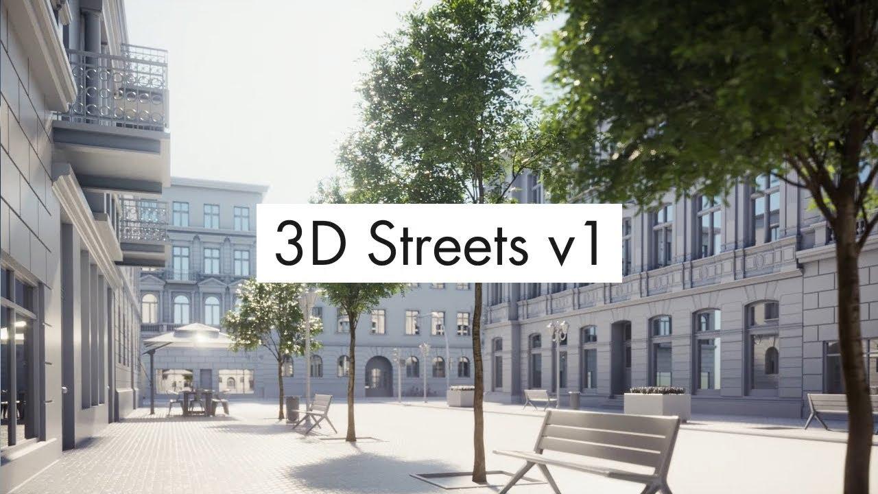 3D Streets v1