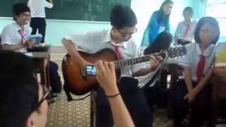 Nguyen Hoang Long 9 12   Guitar   Thien than mua dong
