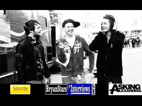 Asking Alexandria Interview #2 Danny Worsnop & Ben Bruce UNCUT 2012
