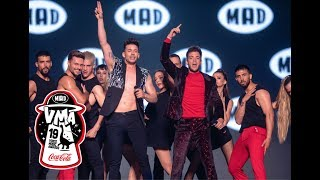 "Luca Hanni - Βαγγέλης Κακουριώτης / ""She got me""- ""Πόσα ξέρει""   Mad VMA 2019 by Coca-Cola"
