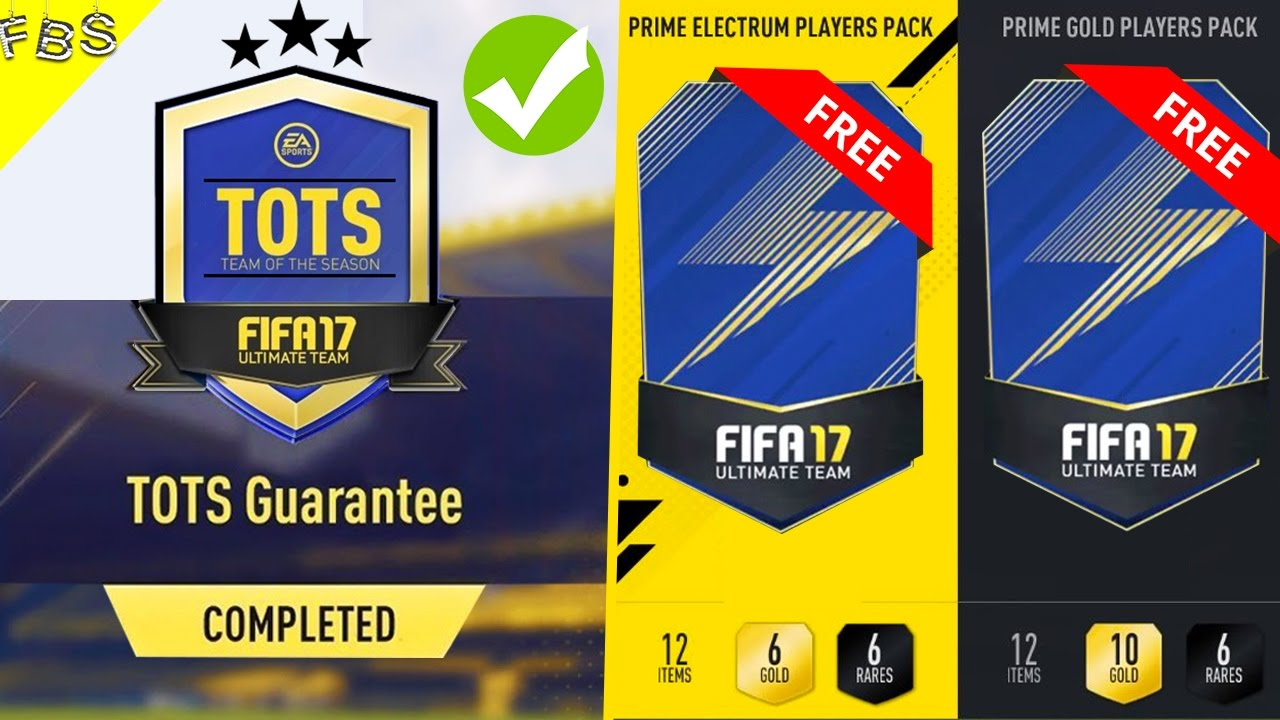 Fifa 17 Massive Tots Pack Opening Opening Free Tots Packs