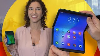 TCL's newest affordable foldable phone: hands-on