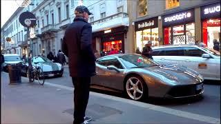 Nonnino Fortunato Proprietario Della Ferrari 488 Gtb