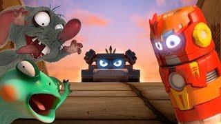 LARVE - ROT VS GRAU | Cartoon-Film | Cartoons Für Kinder | Larva Cartoon | LARVE Offiziellen