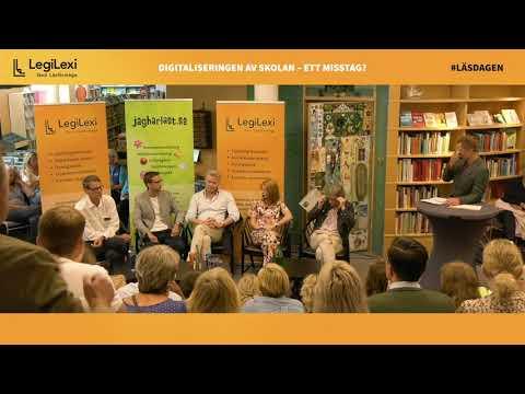 Paneldebatt Om Digitaliseringen I Svenska Skolan (lång)