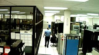 Server Room Halon Fire Suppression System Accident - View 2