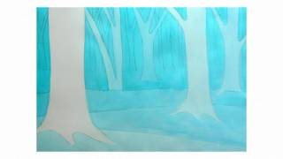 Learn How To Paint a Secret Forest - Negative Painting Technique