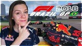 MAX VERSTAPPEN PODIUM GP BRAZIL! F1 GRAND PRIX BRAZILIË 2018! (Formule 1: 2018)
