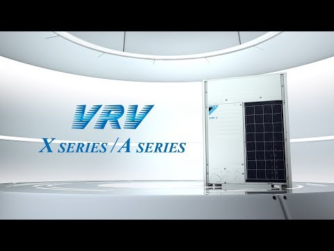 Daikin New VRV X Series / A Series  [DAIKIN]
