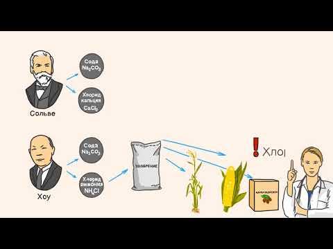 Как добывается сода