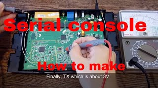 Find Tx Rx and solder serial console for TP-LINK WDR4300ND WiFi router