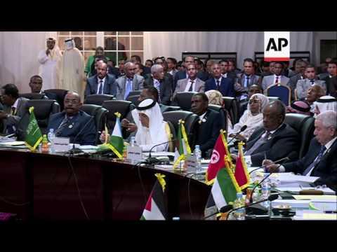 Arab League summit opens in Mauritanian capital