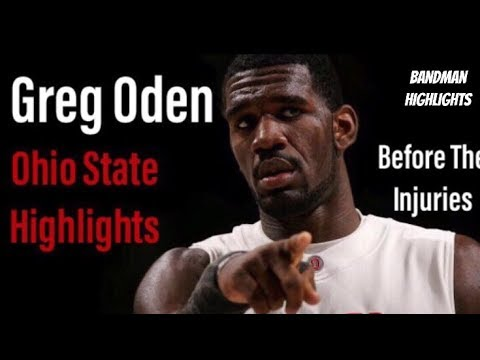 Greg Oden Ohio State Highlights
