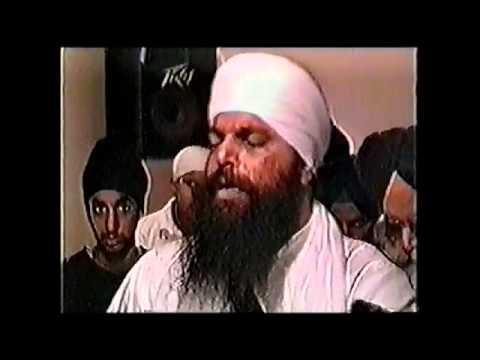 Bhai Niranjan Singh (Jawaddi Kalan) Old Recording Vancouver