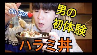 韓国のネットで人気な大阪のガチで美味しいハラミステーキ丼。with ポムちゃん達