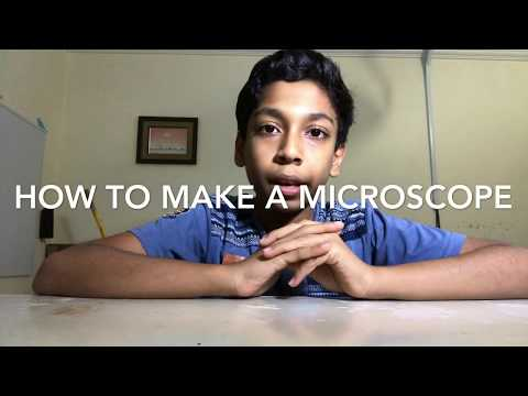 how to make a microscope
