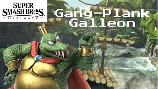 """""""Gang-Plank Galleon"""" (Super Smash Brothers Ultimate Music Video)"""