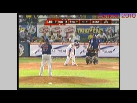 """Ultimo Out de la Final Caracas-Magallanes (2010) """"Caracas campeón"""""""
