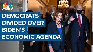 Democrats remain divided over Biden's economic agenda