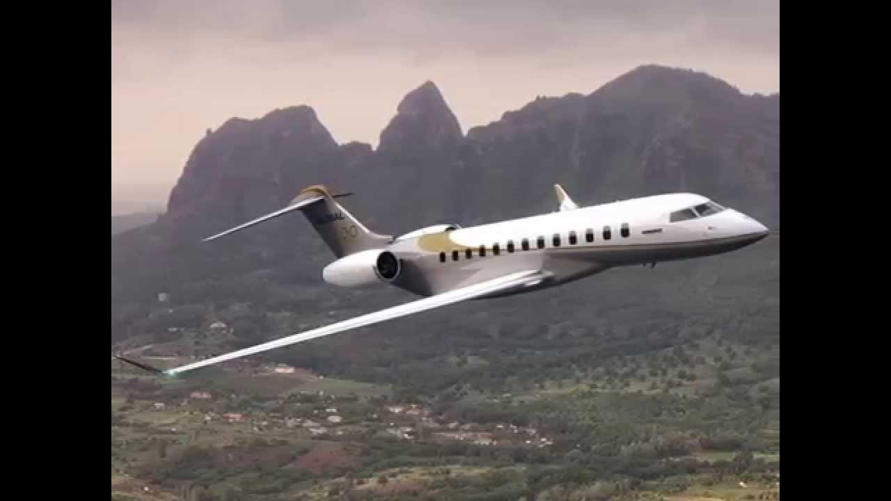 $65,000,000 Bombadier Global 8000, Mach .85, 19 passenger, 9,085 mile range