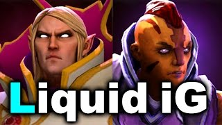 LIQUID vs iG - Awesome QuarterFinal! - KIEV MAJOR DOTA 2