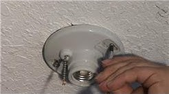 Home Electrical Repairs : How to Replace a Ceiling Mounted Pull Chain Light Fixture