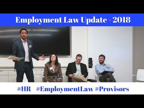 Employment Law - Legal Update (PROVISORS)