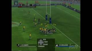 Rugby 06 Xbox Gameplay - Try For Australia