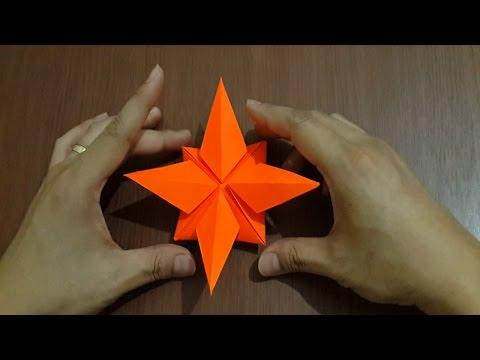 Tutorial Cara Membuat Origami Bintang Kejora