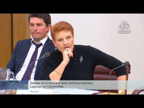 Estimates - Scott Ludlam and Pauline Hanson clash