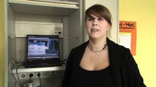 Stadt der jungen Forscher 2012 - Projekt 19 - Unterricht über eine Webcam - hopp oder topp?