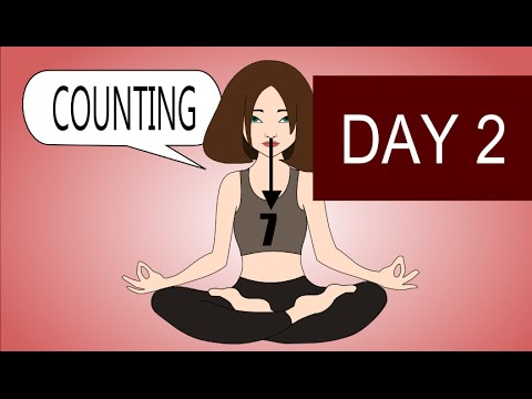 Counting Meditation - Simple Breathing Meditation - Day 2
