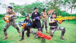 LTT Nerf War : Couple SEAL X Warriors Nerf Guns Fight Criminal Group Dr Lee Battle impossible