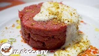 633 - Tartare di manzo con pistacchio e crema di pecorino...secondo di carne semplice e divino!