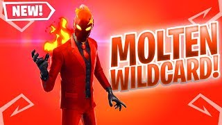 The New MOLTEN WILDCARD Skin in Fortnite