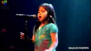 Gambar cover SHE's only 5 YEAR OLD - SINGS- WHITNEY HOUSTON - Amazing High Notes