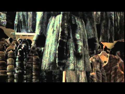 вязанная норка - YouTube