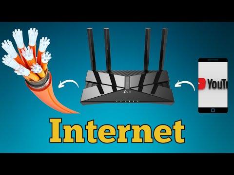 how internet works via cables Bangla video