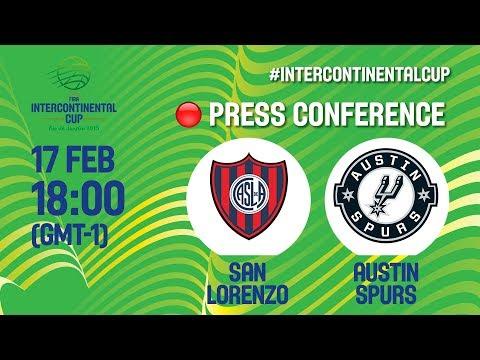 San Lorenzo v Austin Spurs - Press Conference