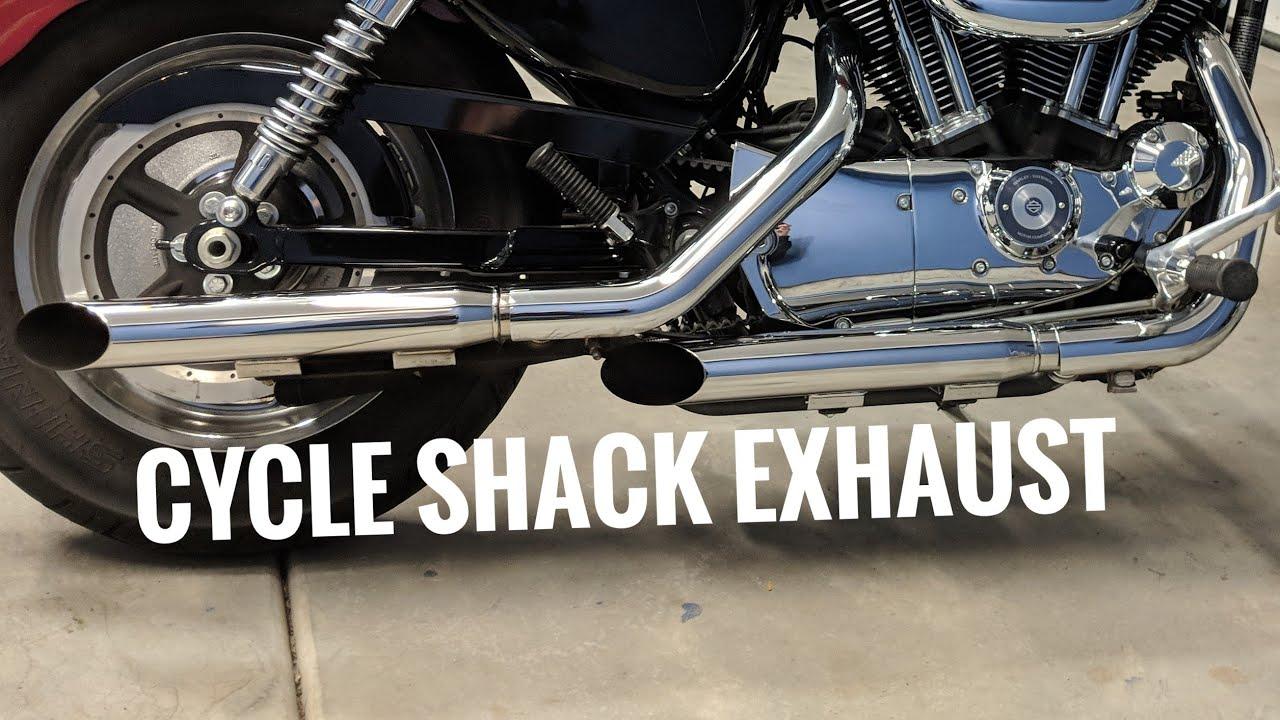 cycle shack exhaust